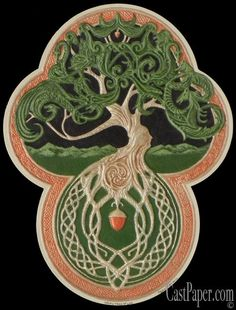 Druids Trees: The Celtic Tree of Life.   Of the Spirit