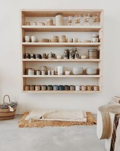 California Ceramics 🖤 at General Store Decor, House Design, Ceramics, Pottery Store, House Styles, Home Decor, House Interior, Interior Design, Shelving