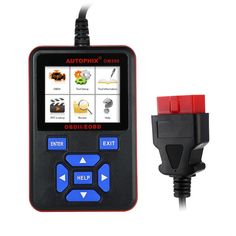 (59.60$)  Watch more here - http://aibs2.worlditems.win/all/product.php?id=32776073518 - Free Shipping AUTOPHIX OM580 OBDMate OBD2 Code Reader with Fuel Economy Feature - Black with Red