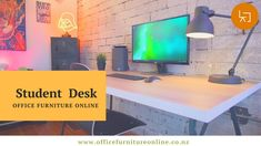 A variety of workstations & desks for the classroom and the administration offices. workstations and desks from the specialized junior student desk. Sit To Stand, Student Desks, Work Station Desk, Furniture Online, Open Plan, Corner Desk, Classroom, Range, How To Plan