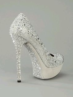 wedding shoes with bling | Bling wedding shoes! | Heart & SOLE