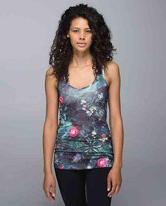 40656cd07b55e Lululemon Cool Racerback Curious Jungle Multi Yoga Fashion