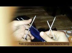 Patik ve çorapta burundan başlama tekniği. - YouTube Popular Ads, Crochet Slippers, Youtube, Pattern, Socks, Amigurumi, Tricot, Knitting Socks, Patterns