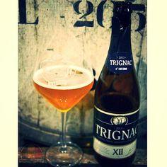 Trignac (12% ABV); Kasteel Tripel aged in cognac barrels.. #barrelaged #trignac #vanhonsebrouck #breweryvanhonsebrouck #brouwerijvanhonsebrouck #castlebreweryvanhonsebrouck #cognac #ale #brewery #belgianbrewery #belgianbeer #drinklikeabelgian #brewedinbelgium #beertourism #craftbeer #beer #belgianbeerchallenge #belgianale