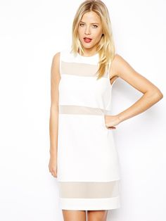 12 dresses that SCREAM spring :: Women's fashion trends 2014 | See more about birthday dresses, shift dresses and mesh.