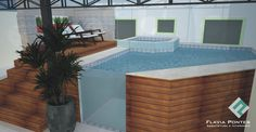 Image result for piscina elevada