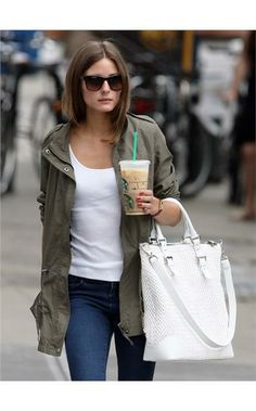 Olivia Palermo & Gerard Darel New York Cobra Tote Bag