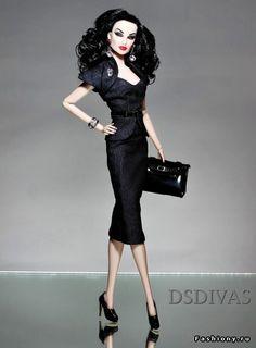 Кукольные фотосессии от Diana Sosa / fashion royalty куклы vanessa perrin