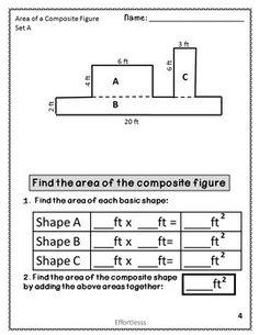 area of composite figures worksheet math worksheets perimeter worksheets first grade. Black Bedroom Furniture Sets. Home Design Ideas