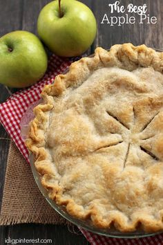 It's hard to beat a homemade spiced Apple Pie! This is one of my my most favorite fall desserts!