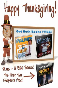 Get your free books before my annual Thanksgiving Free Book Giveaway is history!  http://www.thenewsletterguru.com/turkey/