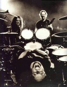"""METALLICA, playing live, just like the scene from the UNNAMED FEELING music video  """"The World's No:1 Online Heavy Metal T-Shirt Store"""". Check it out our Metalhead Clothing and Apparel Store, Satanic Fashion and Black Metal T-Shirt Stores; www.HeavyMetalTshirts.net"""