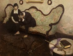 "tesserariuss: ""It's Hard To Explain #Murder, Dean Cornwell, 1920 "" #art"
