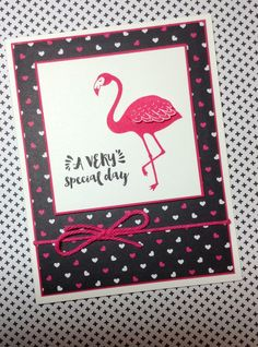 Pop of Paradise stamp set and Pop of Pink designer series paper by Stampin' Up!  Linda Madison