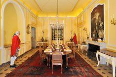 La salle à manger.