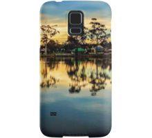 Sunset Reflections at Lake Neangar - Eaglehawk, Victoria Samsung Galaxy Case/Skin