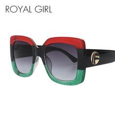 464400a8cfa ROYAL GIRL Vintage Oversized Sunglasses