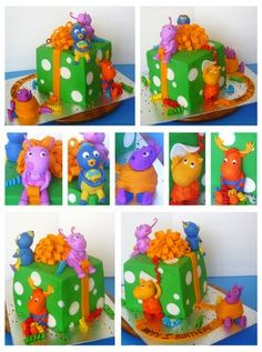 1000 images about backyardigans party on pinterest for Backyardigans party decoration