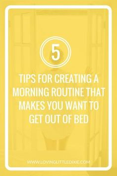 Become a morning person by creating a routine that makes you want to get out of bed