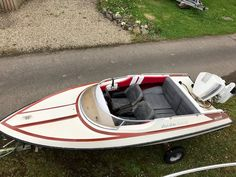 Classic 15ft  Dateline Bikini Speed Boat for sale.Excellent starter boat /  Water sports Good order for year.Powerful 115hp outboard engine with controls. YouTube link to see engine running (https://youtu.be/v4grsaCpYJ0)New 5 blade prop.New fuel tank and connection.New Carpets etc...Just recently Anti-fouled and ready to go.Trailer included but needs attention.Text or call 07969 394892 or  07711 819121No Swap or Part Exchange. Boat is in Fermanagh Area.Thanks for looking.#xtor=CS1-41-[share]