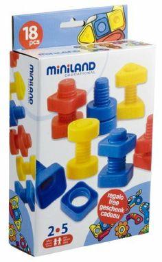 +2 anys Miniland 31758 - Pack de 18 tornillos y tuercas [Importado de Alemania] de Miniland, http://www.amazon.es/dp/B003U6H180/ref=cm_sw_r_pi_dp_wnx6sb0N14A93 8€