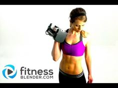 Fat Blasting Total Body Strength and Toning Workout, Fitness Blender