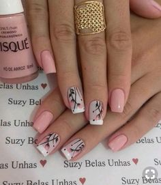 trending Early Spring Nails Art Designs and Colors 2019 - Hairstyles Simple . - Nägel trending Early Spring Nails Art Designs and Colors 2019 - Hairstyles Simple . - Nägel - The Best Nail Art Designs Compilation. Best christmas nail tutorials page 32 Fancy Nails, Trendy Nails, Stylish Nails, Cute Nails, My Nails, Spring Nail Art, Nail Designs Spring, Spring Nails, Nail Art Designs