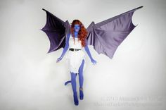 Demona costume with articulating wings. #Gargoyles  https://www.etsy.com/listing/230201191/demona-the-gargoyle-with-moving