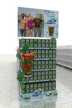 Nestea Nestle - Exhibidores Varios on Behance