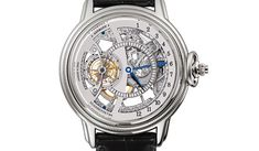 """Glashütte Original – Julius Assmann 4 in white gold     Price: 161,000.00    This watch from Glashütte Original was released on the market in 2007 and it features a unique retrograde hour display and tourbillon. It can be worn as a wristwatch or pocket watch and it's also offered in """"cheaper"""" versions in rose gold or red gold for 145,000.00"""