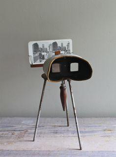 Antique Victorian Stereoscope. $99.00, via Etsy.