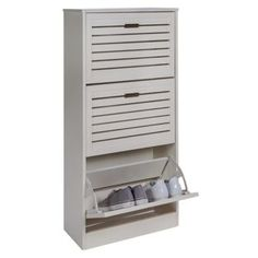 Buy Argos Home Hereford Shoe Storage Cabinet - White Shoe Storage Cabinet White, Hallway Storage, Shoe Cabinet, Locker Storage, White Hallway, Hallway Furniture, Furniture Storage, Shoe Bench, Small Storage