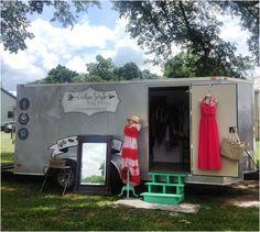 Article comparing a mobile boutique trailer vs a fashion truck step van.