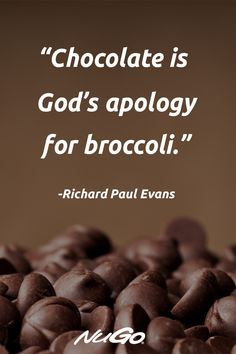Nothing heals the soul like chocolate. Chocolate Lovers Quotes, Chocolate Humor, Like Chocolate, Homemade Chocolate, Fact Quotes, Attitude Quotes, Ice Cream Quotes, Fun Sayings, Stress Reliever