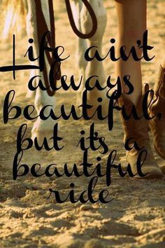 Gary Allan - Life Ain't Always Beautiful - this song makes me cry, it's so good<3