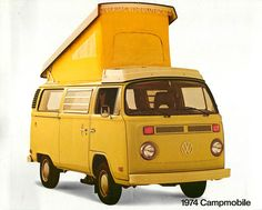 1974 VW Campmobile (Westfalia)