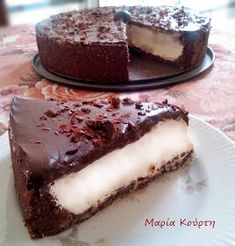 Greek Recipes, Cakes And More, Healthy Desserts, Stevia, Sugar Free, Recipies, Cheesecake, Food And Drink, Sweets