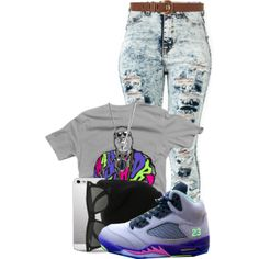 """""""Untitled #204"""" by kissmymindless143 on Polyvore cheap air jordan 5 only $60, save up to 59% off for all #Nikes #Shoes"""