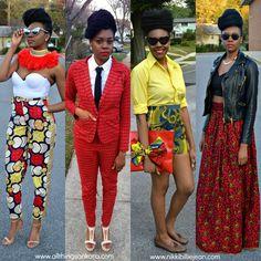 All Things Ankara: Nikki Billie Jean: 2014 Ankara Outfits