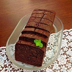 おからdeチョコパウンドケーキ*