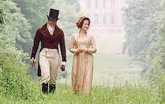 Dr. and Elizabeth as they talk while in Pemberley.