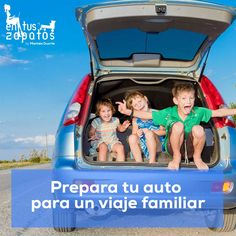 Prepara tu auto para un viaje familiar.  http://entuszapatosblog.com/prepara-tu-auto-para-un-viaje-familiar/