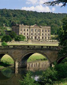 Derbyshire - England. Now that I've read Pride and Prejudice :)