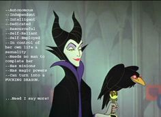 Maleficent the Magnificent.