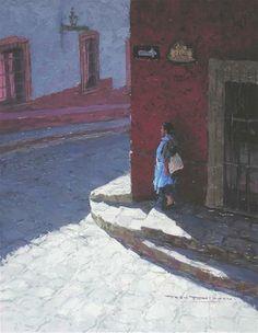 """LA ESQUINA"" - Original Fine Art for Sale - © Tom  Dickson"