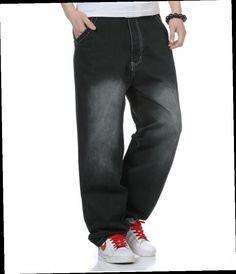 46.50$  Watch now - http://ali88p.worldwells.pw/go.php?t=32395192702 - New Hip hop jeans mens hot sell men baggy jeans european style denim jeans new style jeans pants men waist Plus Size 30-46