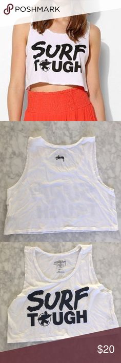 Stussy Urban Outfitters Surf Tank *NEW* Brand new! Size small! Surf tough tank! NO TRADES brand stussy purchased from urban outfitters! Urban Outfitters Tops Tank Tops