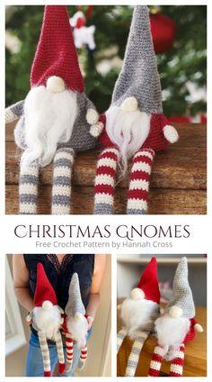 Christmas Crochet Patterns, Crochet Animal Patterns, Crochet Christmas, Crochet Patterns Amigurumi, Crochet Bunny, Crochet Angels, Quilted Christmas Ornaments, Crochet Gifts, Diy Crochet