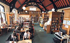 A Thousand Years of Lessons Brown is good: pupils studying in the library at St Peter's, York, 'a local school with a strong regional identity' For three long established schools the ethos of learning remains the same, says Eleanor Doughty 21/2/15