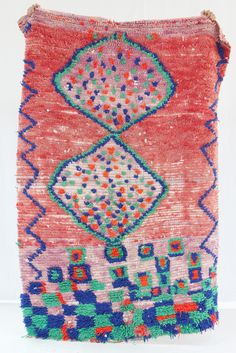 Beklina / Thoughtfully curated fashion, home art and objects for women Textiles, Textile Patterns, Textile Prints, Textile Art, Berber Carpet, Berber Rug, Wall Carpet, Rugs On Carpet, Handmade Rugs